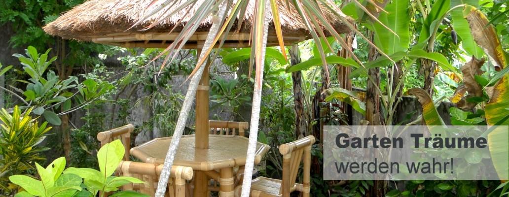 Bambus Im Garten Gartenmöbel Aus Bambus
