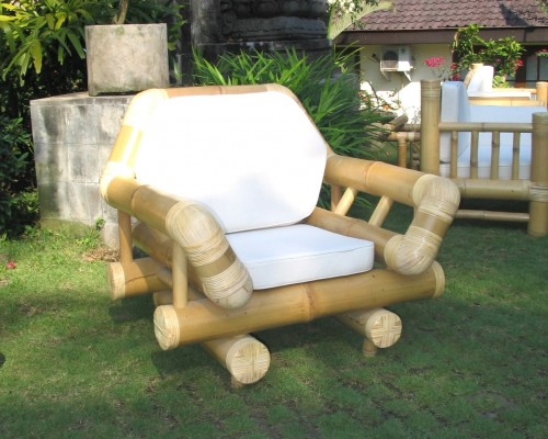 Gartenmobel Aus Bambus Bambus Lounge Bambus Gartenstuhle