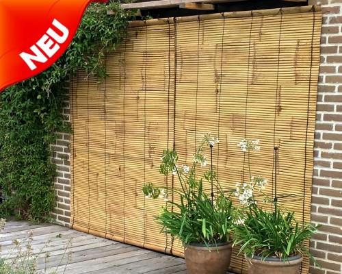 Baustoff Bambus Matten Fur Haus Und Garten